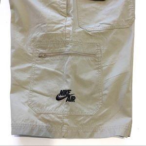 SZ 33 Men's Nike Air Chino Cargo Athletic Shorts